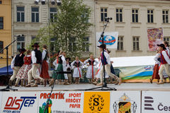 International folklore festival CIOFF Royalty Free Stock Photography