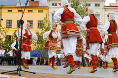 International folklore festival CIOFF 2014 Royalty Free Stock Images