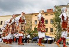International folklore festival CIOFF 2014 Stock Image