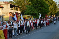 10 International folklore festival Lukavac 2016 Royalty Free Stock Photography