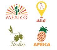 International food art Stock Photo