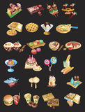 International food set Stock Images