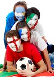International football fans Royalty Free Stock Image