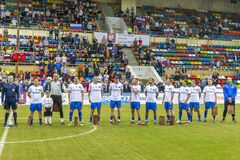 International football tournament Legends Cup in memory of Konstantin Eremenko.