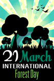 International forest day Royalty Free Stock Image