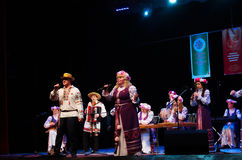 International Forum of folk music and folklore Royalty Free Stock Images