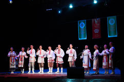 International Forum of folk music and folklore Stock Photo