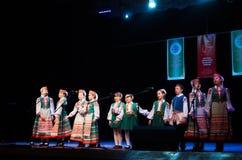 International Forum of folk music and folklore Royalty Free Stock Image