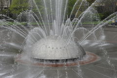International Fountain, Seattle, USA royalty free stock photos