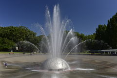 International Fountain, Seattle, USA Royalty Free Stock Images