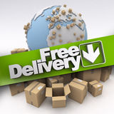 International free delivery stock photos