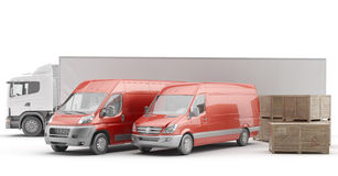 International freight. Royalty Free Stock Image