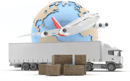 International freight. Royalty Free Stock Photography
