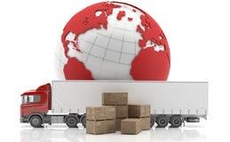 International freight. Royalty Free Stock Photos