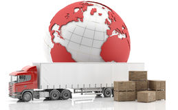 International freight.   Stock Image