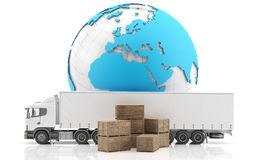 International freight. Stock Photo