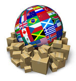 International Freight Transportation Royalty Free Stock Photo