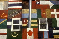 International Global House, a roadside attraction in the Catskills, NY Royalty Free Stock Image