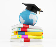 International graduation concept Stock Photo