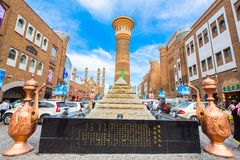 International Grand Bazaar, Xinjiang China Royalty Free Stock Images
