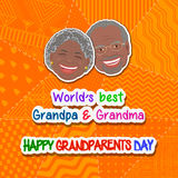 International grandparents day Royalty Free Stock Photos