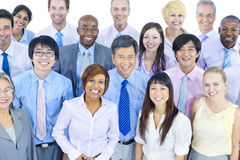 International Green Business People Meeting Royalty Free Stock Photos
