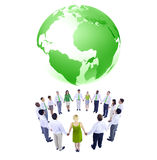 International Green Business People Meeting Royalty Free Stock Photography