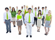 International Green Business People Meeting Stock Images