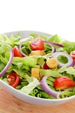 International green salad whit tomato end union Stock Images
