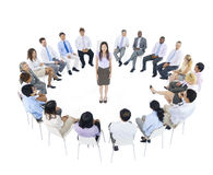International Group Business People Meeting Royalty Free Stock Photo