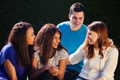 International Group of Friends Interacting Royalty Free Stock Image