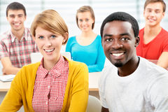 International group of students Royalty Free Stock Photography