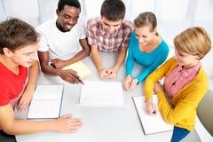 International group of students Stock Image