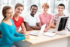 International group of students Stock Photography