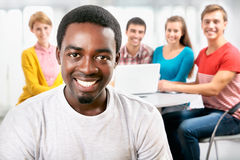 International group of students Royalty Free Stock Images
