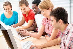 International group of students Stock Photo