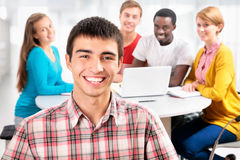 International group of students Royalty Free Stock Photos