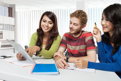 International group of young students Royalty Free Stock Photography