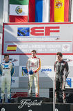 INTERNATIONAL GT OPEN. PODIUM OF EUROFORMULA OPEN Stock Photos