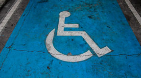 International handicapped symbol Stock Images