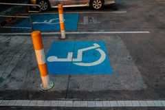 International handicapped symbol Stock Image