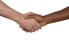 International handshake Stock Photography