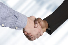 International Handshake Royalty Free Stock Photo