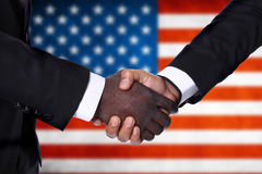 International handshake Stock Photos