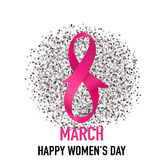 International Happy Women's Day. 8 March holiday background.. Vector illustration stock illustration