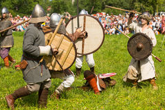 International historical festival of medieval culture Stock Images