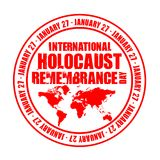 International holocaust remembrance day Stock Image