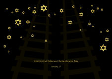International Holocaust Remembrance Day  Stock Images