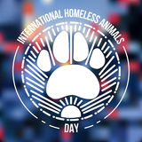 International Homeless Animals Day Stock Images