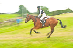 International Horse trial at Burgie Royalty Free Stock Photos
